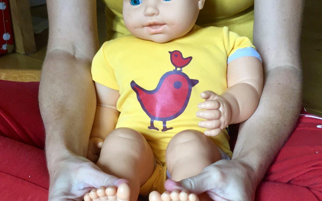 Wat is Babymassage