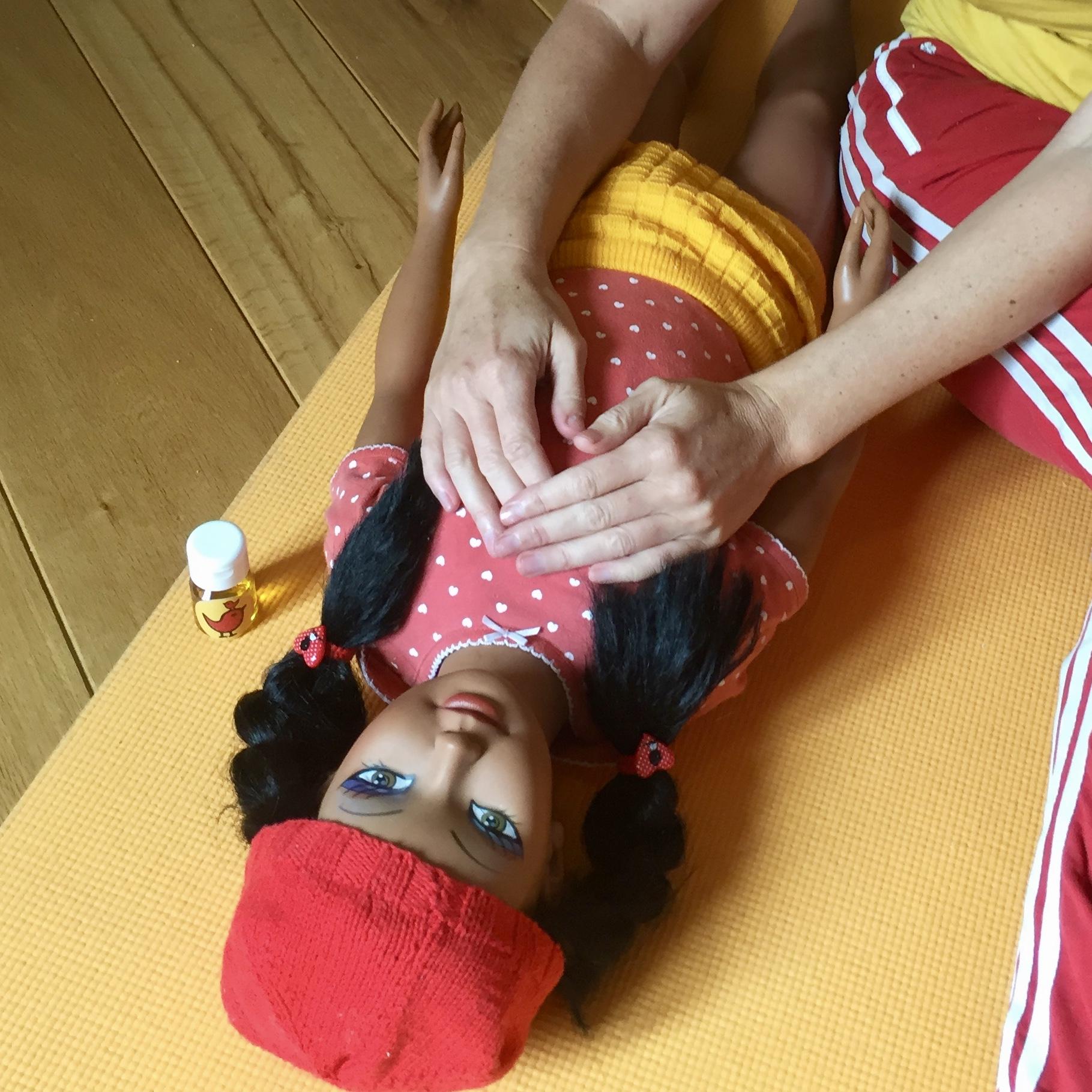 Online Cursus Kindermassage