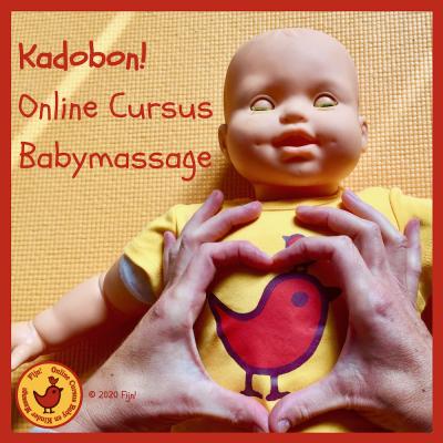 Kadobon online cursus Babymassage