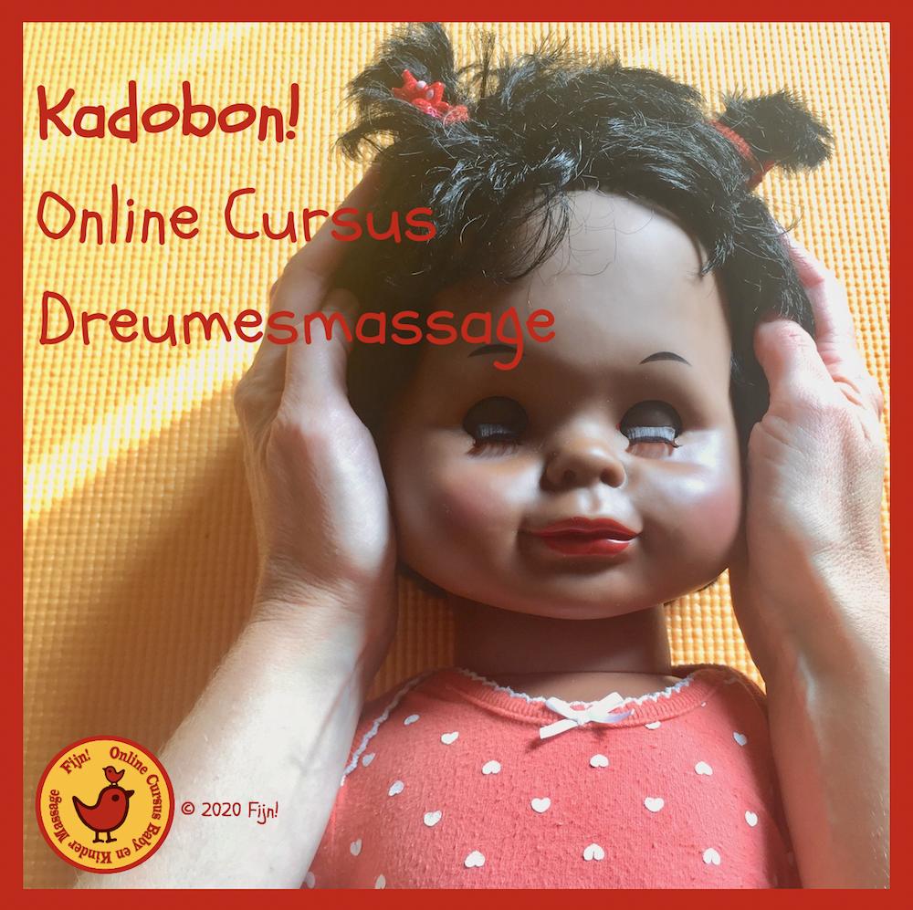 Kadobon online cursus Dreumesmassage