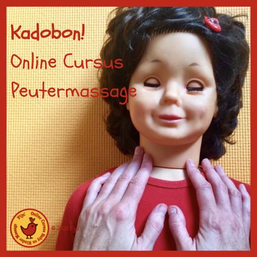 Kadobon online cursus Peutermassage